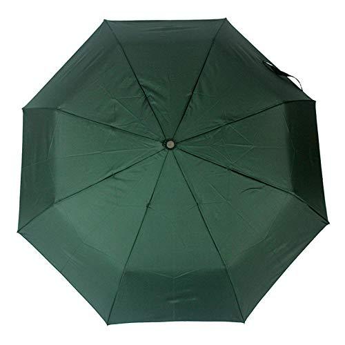 Parasol Parapluie Parapluie Automatique Pliable Résistant Au Vent Pluie Femmes Mâle Auto De Luxe Grand Parapluies Coupe-Vent pour Hommes Couleur De La Pluie Poignée Parasol Vert