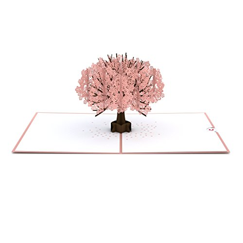 Lovepop Cherry Blossom Pop Up Card - 3D Card, Mother�s Day Card, Pop Up Mother's Day Call, Card for Wife, Card for Mom, Anniversary Pop Up Card, Spring Card, Greeting Card Pop Up, Pop Up Birthday Card Photo #3