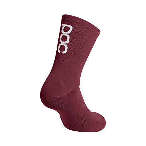 POC Resistance Calcetines, Hombre, Rojo (Thaum Red), S