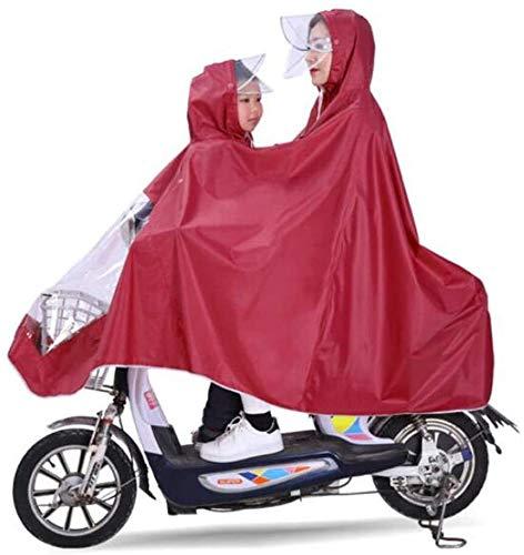 Eléctrica Doble bicicletas Impermeable madre y del niño de la diversión del...