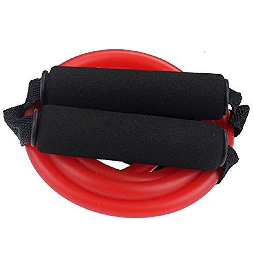 BlueBeach® Widerstand Typ der Fitness-Band D – Gym Yoga Muskeln Training Übung elastische Ausrüstung Training Tube Seil Kabel Stretch Mode Werkzeugkörper (zufällige Farbe) - 6