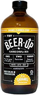BeerUp Flavored Syrup for Beer (Caramel)