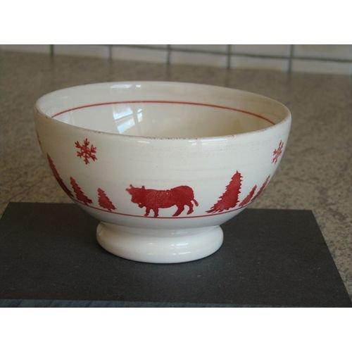 TABLE&COOK Bol à pied 'vache rouge' (lot de 6) - F394700328D0164