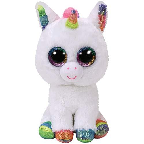 TY Beanie Boos Pixy-Unicornio Blanco 15 cm (36852TY) (United
