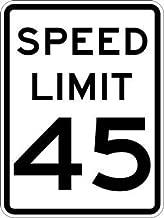 Best 45 mph speed limit sign Reviews