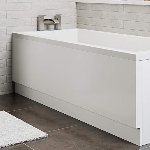 Bath Panel Pack Set Acrylic Side End Gloss White 1700/750mm Bathroom Modern