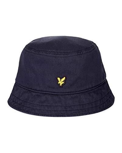 Lyle & Scott Lyle & Scott Herren Cotton Twill Bucket Hat Schlapphut, Blau (Dark Navy Z), Einheitsgröße