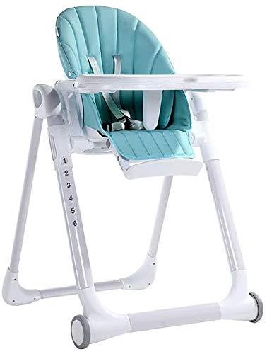Chaise Haute Bebe pour les enfants d'hôtel pour les enfants siège multifonction pour des visites en plein air pour les enfants avec des coussins de siège pliant portable et la ceinture de sécurit.