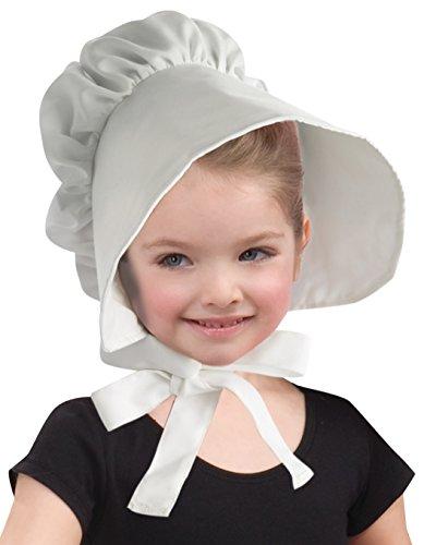 Forum Novelties - Sombrero para capó colonial, color blanco