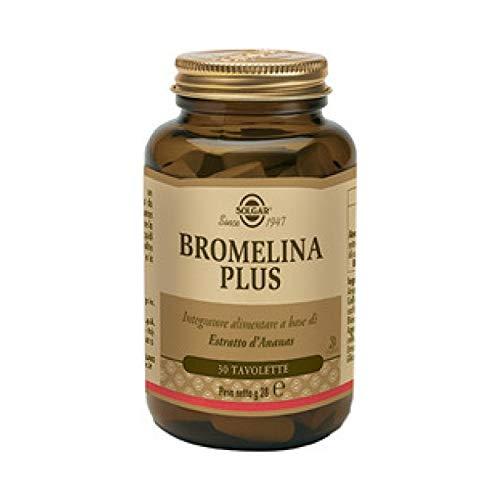 Solgar Bromelina Plus 60 Capsule Vegetali