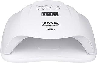 gao 54W UV LED Lámpara De Uñas Luz Solar Profesional Secador De Uñas Máquina De Uñas Uñas Uñas De Los Pies Equipo De Curado Herramienta De Arte De Uñas,White