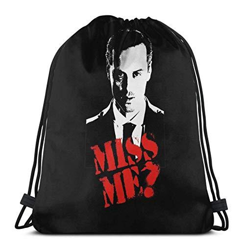 Sherlock Miss Me Moriarty - Mochila deportiva con cordón
