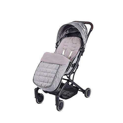 Evenlyao - Saco de Dormir para bebé, 2 en 1, Manta Universal para Cochecito de bebé, para Cochecito, Impermeable, Resistente al Viento, a Prueba de frío, Desmontable