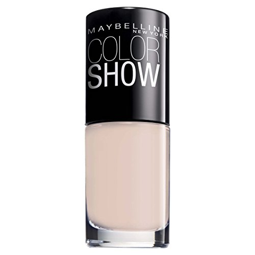 Maybelline New York Make-Up Nailpolish Color Show Nagellack Peach Pie / Ultra glänzender Farblack in leichtem Rosa, 1 x 7 ml