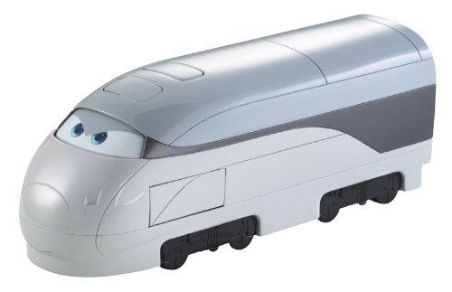 Cars - X0622 - Vehicule - Deluxe - Train Espion Transporteur