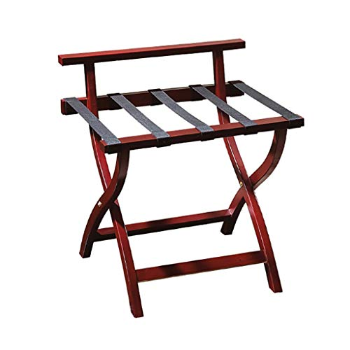 Sale!! GDXLJ Folding Luggage Rack Solid Wood Folding Luggage Racks Bedroom Hotel Special Suitcase Su...