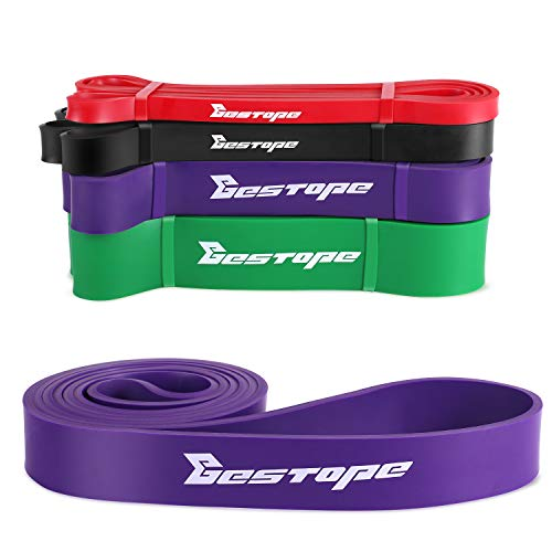 BESTOPE Fitnessbänder Premium Widerstandsbänder Resistance Bands Fitnessband Perfekt für Krafttraining & Muskelaufbau Crossfit Calisthenics