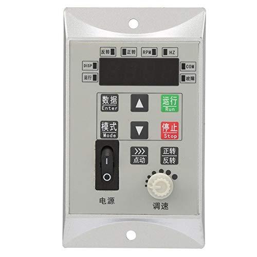 VFD Variador de Frecuencia, CA 220V 0.75KW Monofásico Convertidor de Frecuencia Ajustable Inversor Micro Motor Controlador de Velocidad