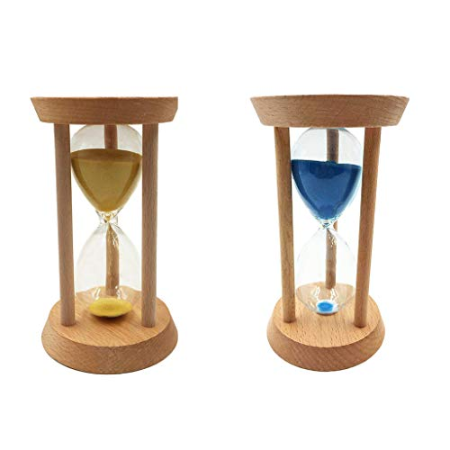 2pcs 20 Minuten Sanduhr Stundenglas Sanduhren Timer für Kinder