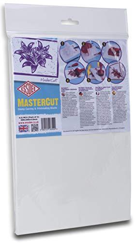 ESSDEE MasterCut Schnitzblock 300 x 200 x 4 mm (2 Blöcke)