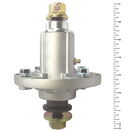 New Blade Spindle Assembly Compatible with 42' 48' 54' Mower Deck Replaces John Deere GY20454 GY21098 GY20962 GY20867 Oregon 82-359, Stens 285-851 Includes Grease Zerk, Mounting Holes are Threaded