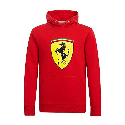 Brand Sports Merchandising B.V. Scuderia Ferrari F1 - Sudadera con capucha para niños, color rojo, 11-12 Años, Rojo