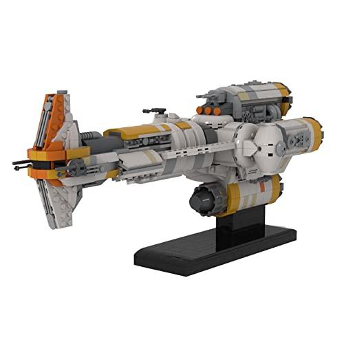 MBKE Star Space Wars - Fragata de cabeza de martillo, 1614 piezas de Space Wars - Juego de juguetes de construcción para niños y adultos, compatible con Lego