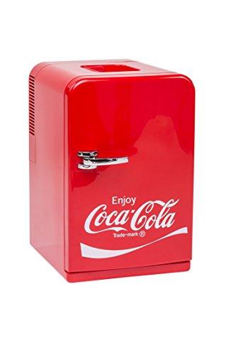 MOBICOOL Coca-Cola Mini Frigorifero F15, 12/230 V, 15 l, con funzione di...