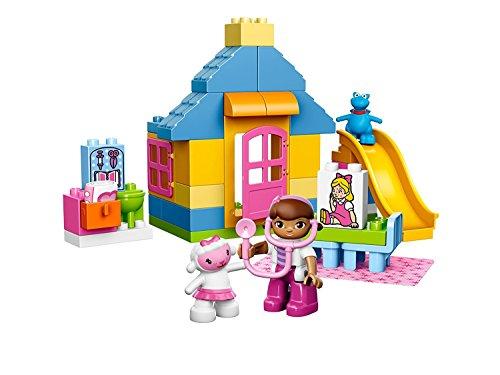 ambulanza dottoressa peluche LEGO Duplo Doc McStuffins 10606 - Dottoressa Peluche: Clinica in Giardino