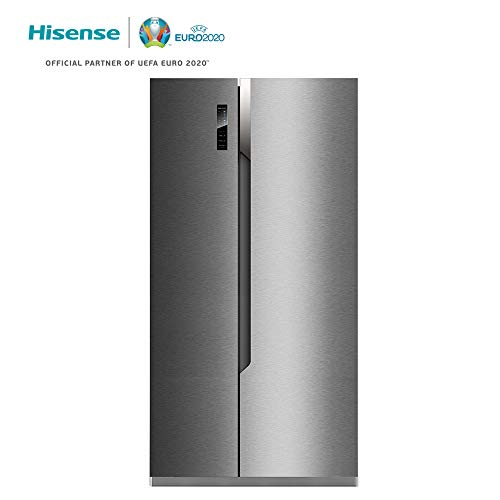 Hisense RS670N4BC3 Independiente 516L A+++ Acero inoxidable nevera pue