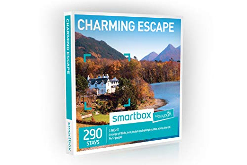 Buyagift One Night Charming Escape Experience Gift Box - 290 overnight stays for two people