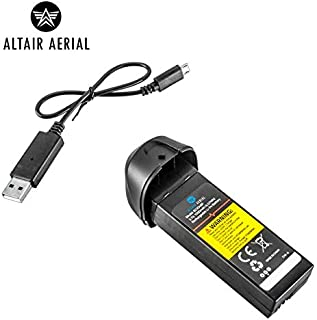 Altair Aerial Replacement Battery and Charger Combo for Falcon Camera Drone