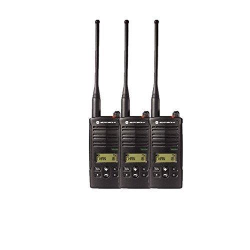 Find Discount 3 Pack of Motorola RDU4160d Two Way Radio Walkie Talkies