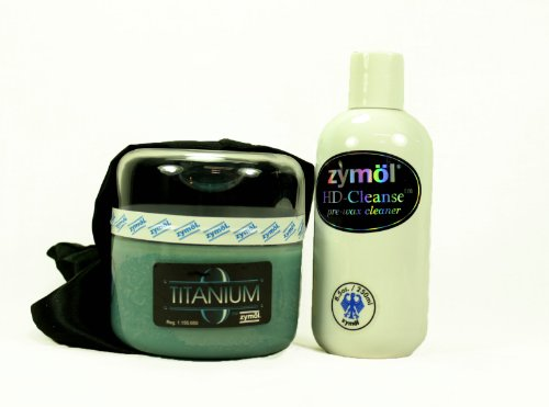 Zymol Titanium Glaze & HD Cleanse Pre-Wax Cleaner Combo Kit