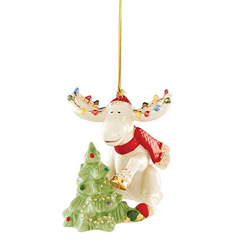 Lenox 2020 Marcel Decorates The Tree Ornament, 0.55 LB, Multi