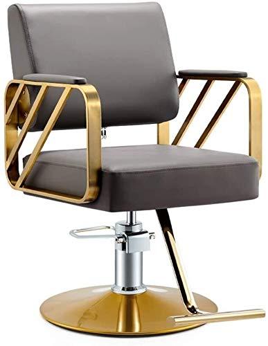Las sillas de oficina Peluquería de la belleza giratoria Silla giratoria de escritorio silla sillas Silla de ordenador Salon peluquero profesional moderno de estilo Elevador hidráulico silla giratoria