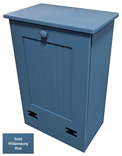 Sawdust City Tilt-Out Trash Bin (Solid Williamsburg Blue)