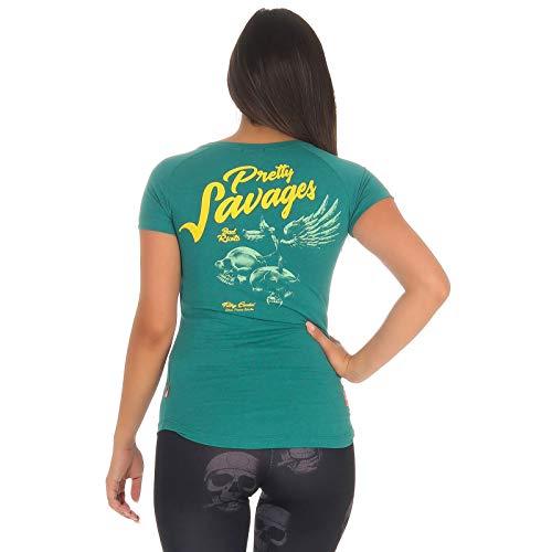 Yakuza Premium Damen T-Shirt GS 2731 grün