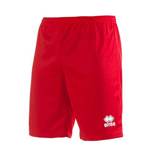 Errea Kinder Maxy Skin Kurze Sporthose, rot, XS