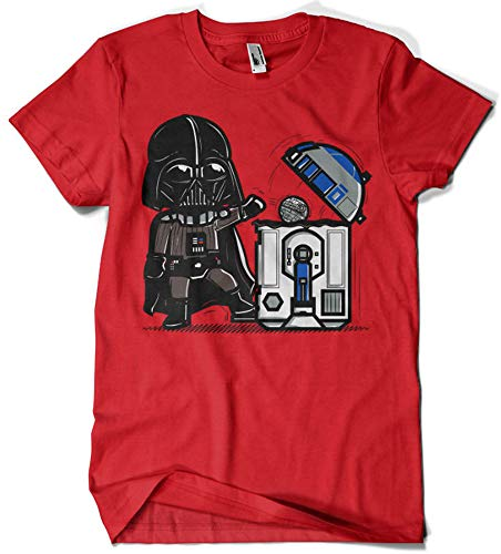 T-Shirt La Colmena 209 - Robotic Trashcan (Donnie), G5000ROJ0XL00209, Rot, G5000ROJ0XL00209 XL