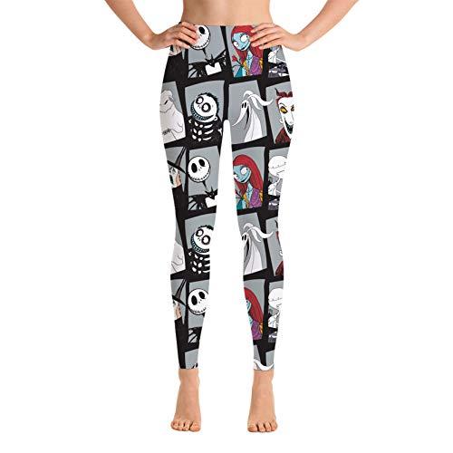Reneealsip Yoga Pants for Women High Waist Stretch Women Leggings for Workout Training Running Large