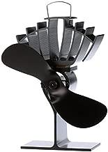 Ecofan UltrAir Wood Stove Fan, Medium, Black