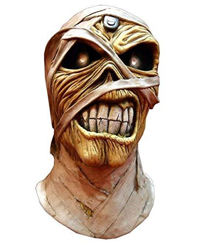 Iron Maiden Eddie Powerslave Mummy Adult Costume Mask