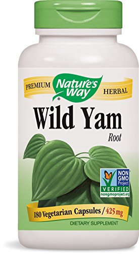Natures Way Wild Yam, Kapseln, 1er Pack (1 x 180 Stück)