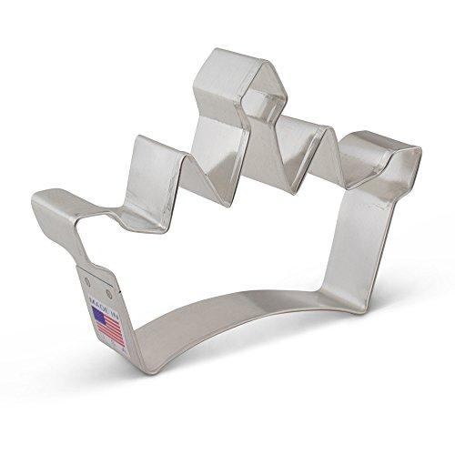 Ann Clark Cookie Cutters Princess Crown Cookie Cutter, 5'