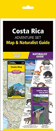 COSTA RICA ADVENTURE SET:TRAVEL MAP & HB [Idioma Inglés]
