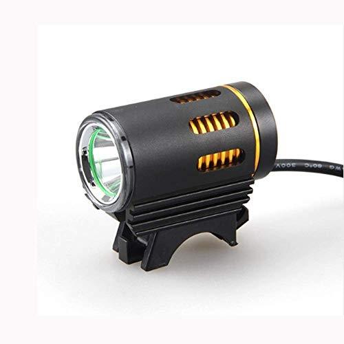 KIUY Luz de Bicicleta Luz de Bicicleta, XM-L2 Luz de Bicicleta LED 3000lm Luces Delanteras de Bicicleta de Carretera MTB ultrabrillantes Mini lámpara de Cabeza 4 Modos Lámparas de Faros de Ciclismo