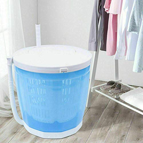 Portable Washing Machine 2 in 1 Hand-operated Mini Compact Compact Traveling Outdoor Compact Washer Spin Dryer for Dorms, Apartments, Camping Travelling Outdoor