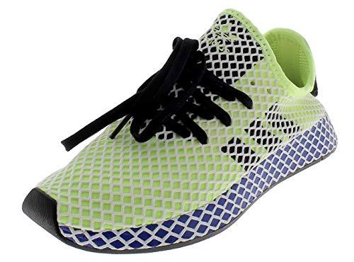 adidas Herren Deerupt Runner Gymnastikschuhe, Gelb (Hi/Res Yellow/Core Black/FTWR White Hi/Res Yellow/Core Black/FTWR White), 38 EU