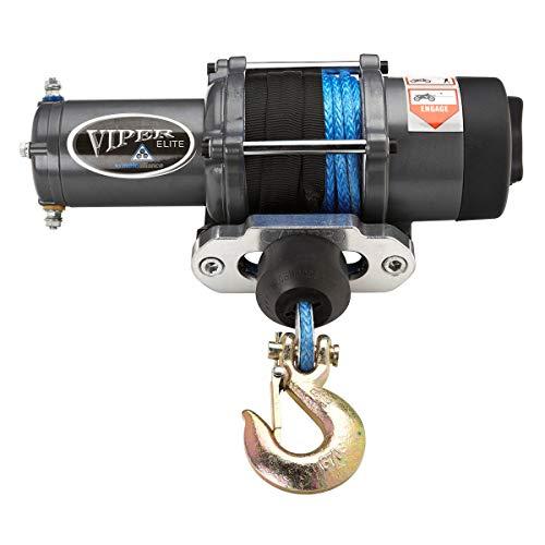 MotoAlliance VIPER Elite ATV/UTV Winch 6000lb 40 feet BLACK Rope Wireless Remote